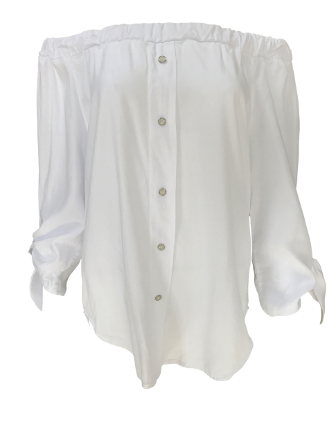 39753c2ed1add9 Bardot Shirt – White