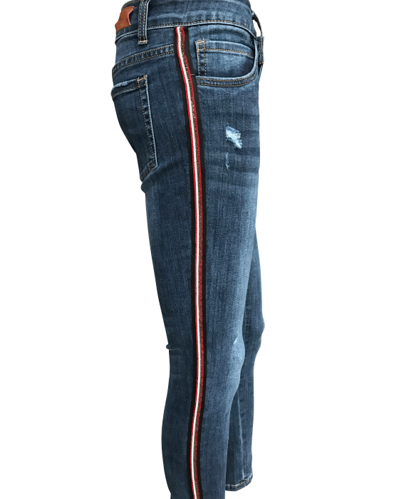 Gucci Inspired jeans side view