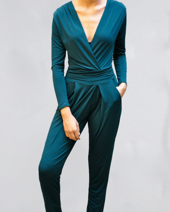 Forest Green Jumpsuit 2