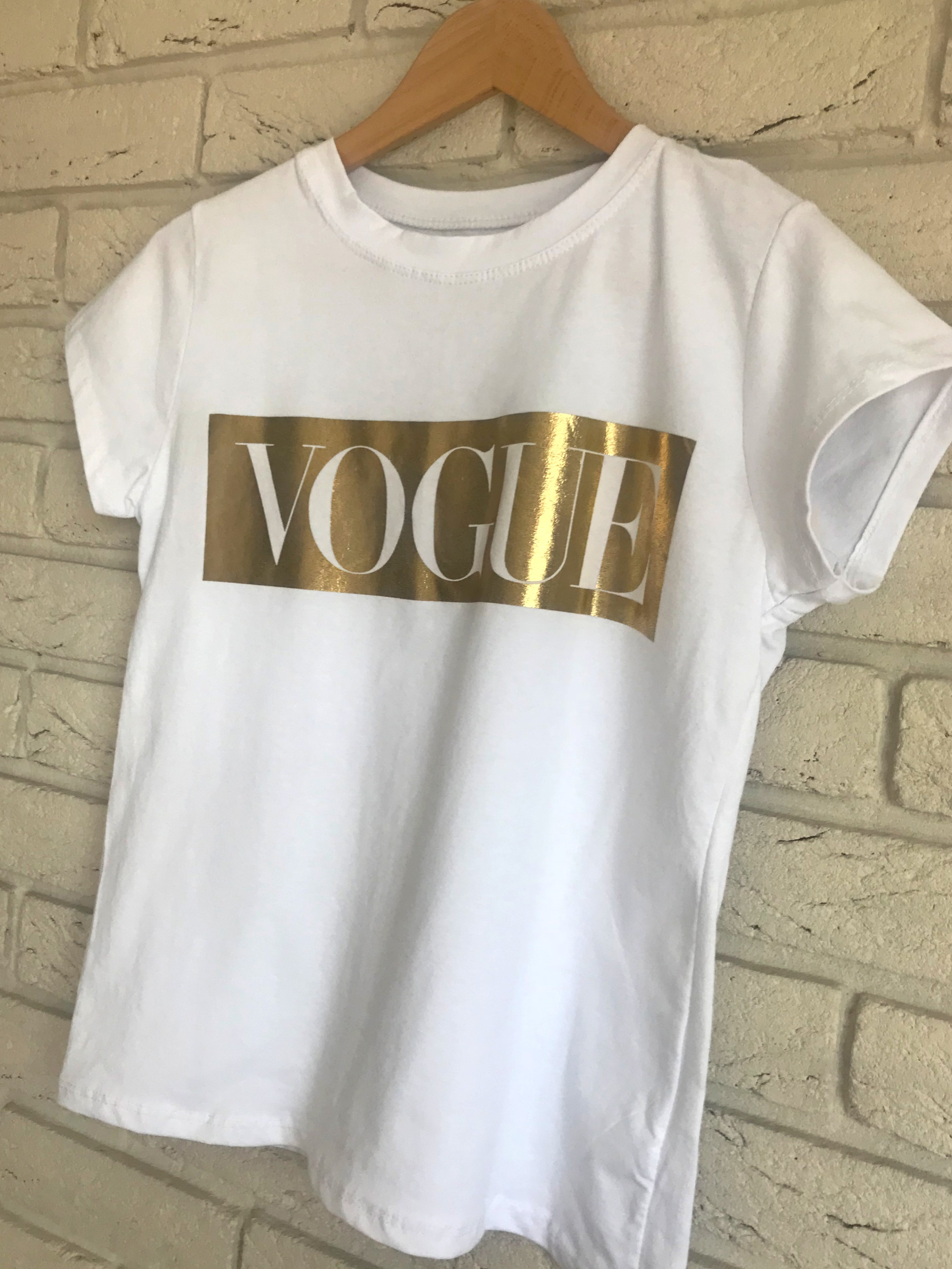 vogue t shirt labels and love. Black Bedroom Furniture Sets. Home Design Ideas
